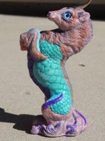 Pale Seafoam Kirin Sculpt Copyright Windstone Editions and M. Pena