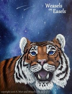 """Starstruck"" Acrylic Painting"