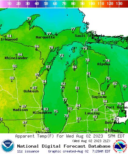 Today's Minimum Wind Chill