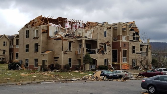 Jacksonville Tornado March 19 2018
