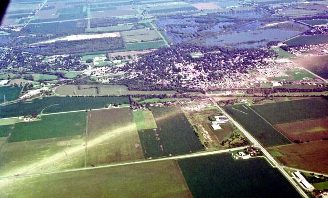 Plainfield tornado Damage Photo #3