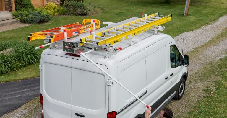 Ezglide2 Drop Down Ladder Rack