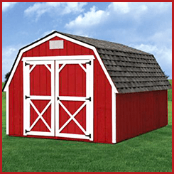Weatherking Painted Barn