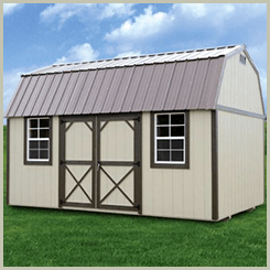 Weatherking Painted Side Lofted Barn