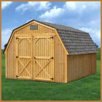 Treated Barn