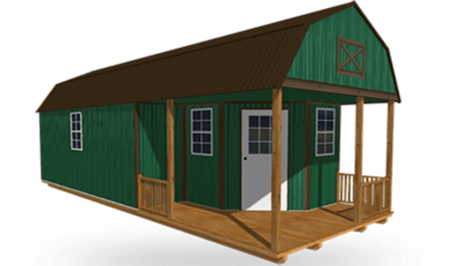 Deluxe Side Lofted Cabin Weatherking Private Storage