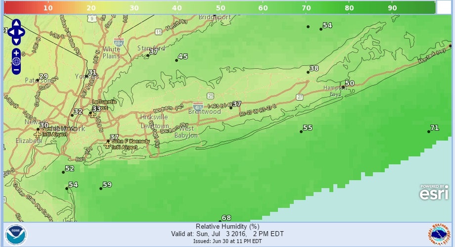 Long Beach Island New Jersey Weather  Day Forecast