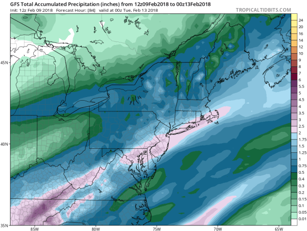 Rainy Long Island Weekend 1-2 Inches Possible