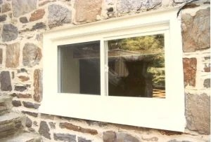 Basement Slider Window