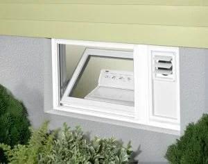 Hopper w/ Built-In Dryer Vent