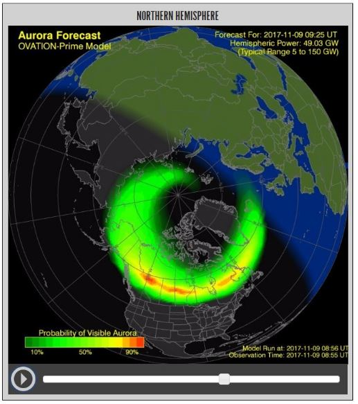 Northern Lights 2017 Forecast
