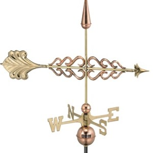 Smithsonian Arrow Copper Weathervane -0
