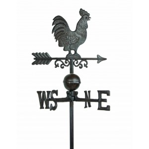 Steel Rooster Weathervane With -0