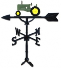 "32"" Tractor Weather Vane Green-0"