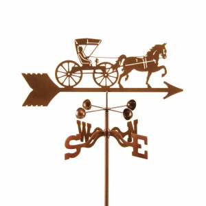 Doctor Horse and Buggy Weathervane-0