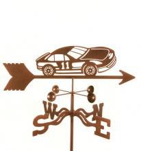 Race Car #11 Weathervane-0