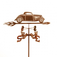 1934 Hot Rod Car Weathervane-0