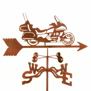 Touring Gold Wing Motorcycle Weathervane-0