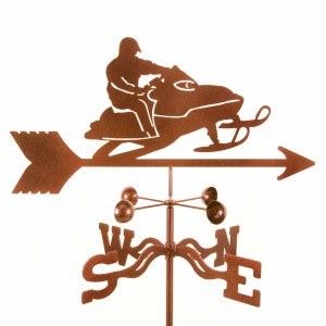 Snowmobile Weathervane-0