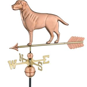 Good Directions Labrador Retriever Weathervane With Arrow-0