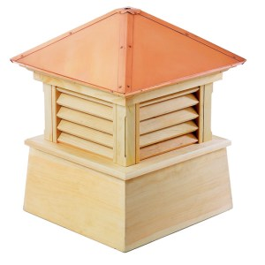 "26"" sq. x 32"" Manchester Wood Cupola-0"