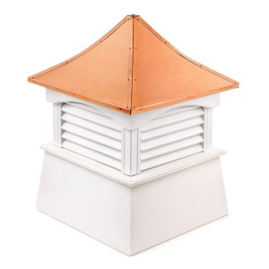 "36"" sq. x 49"" high Coventry Vinyl Cupola -0"