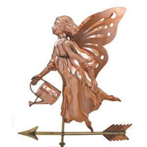 Fairy Copper Weathervane-0