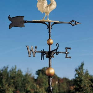 "30"" Full-Bodied Rooster Weathervane-0"