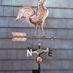 Copper Rooster Weathervane-0