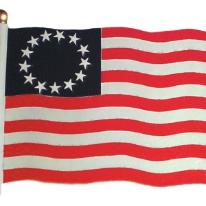 "30"" Liberty Flag Weathervane-0"