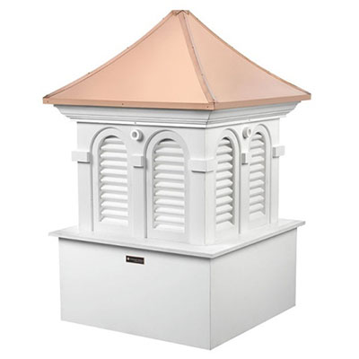 Deluxe 32-in Aluminum Color Cottage Lighthouse Adjustable Roof Mount Weathervane