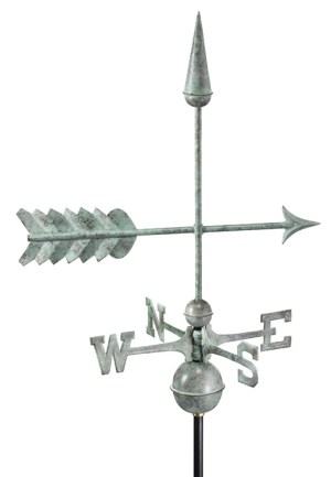 Arrow Pure Handcrafted Copper Weathervane -0