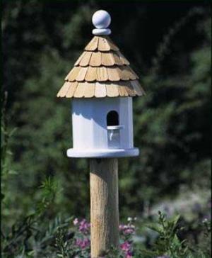 Good Directions Small Natural Cedar Post-0