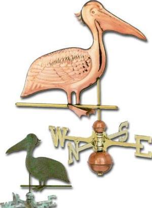 Pelican Copper Weathervane-0