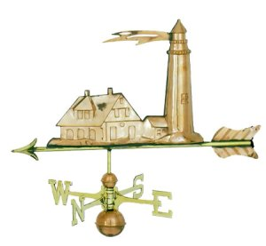 Lighhouse Copper Weathervane-0