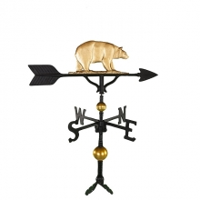 "Old Barn Rustic Co. 32"" Deluxe Bear Aluminum Weathervane-0"