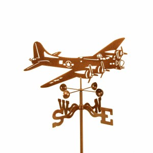 Airplane B17 Flying Fortress Weathervane-0