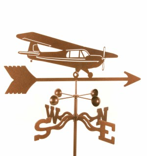 High Wing Airplane Weathervane-0