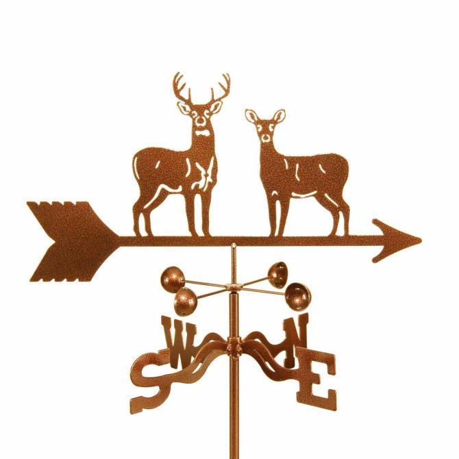 Standing Deer Weathervane-0