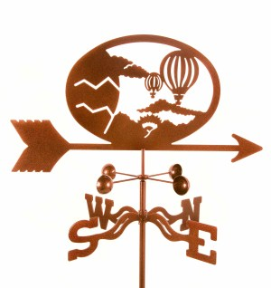 Hot Air Balloons - Lady Weathervane-0