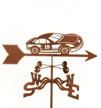 Race Car # 19 Weathervane-0