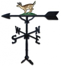 "32"" Buck Aluminum Weather Vane-0"