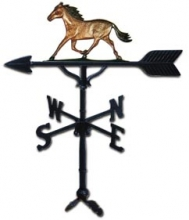 "Old Barn Rustic Co. 32"" Horse Weather Vane-0"