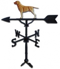 "Old Barn Rustic Co. 32"" Retriever Steel Weather Vane-0"