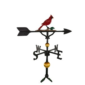 "32"" Cardinal Aluminum Weather Vane-0"