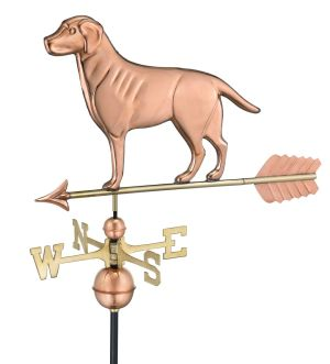 Good Directions Labrador Retriever Weathervane With Arrow-0