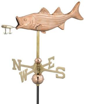 Bass & Lure Fish Weathervane 8847