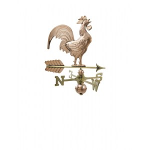 Rooster Copper Weathervane
