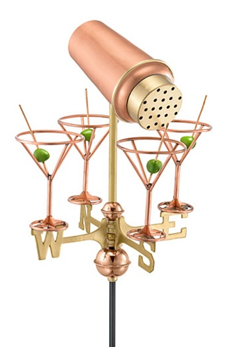 Martini Weathervane-0
