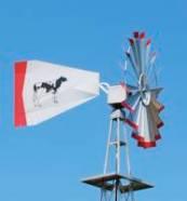 Twenty Foot Pond Aeration Aluminum Windmill-0